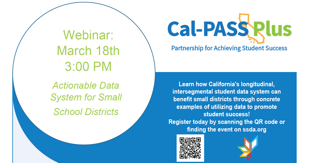 Actionable Data System For Small School Districts' Webinar