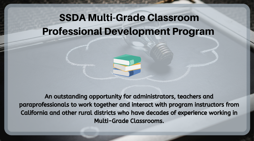 Sign up for SSDA Multi-Grade Classroom PD Program