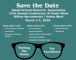 Save the date! SSDA 37th Annual Conference