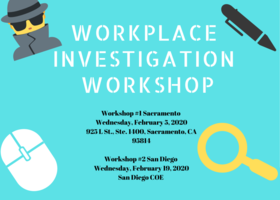 Workplace Investigation Workshops