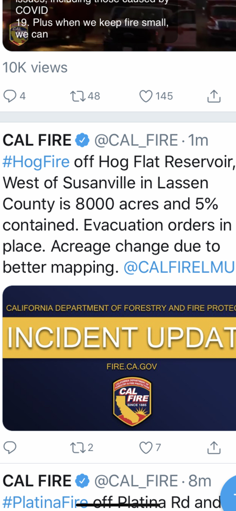 Hog Fire rages